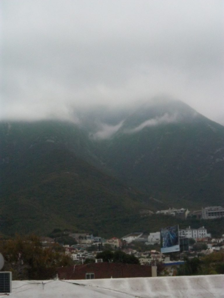 Even on the cloudy days, el cerro was majestic!