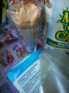 I keep a box of diposable pastry bags in my pantry. They come in handy for a variety of recipes.