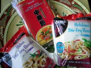 Chinese Noodles for Stir Fry