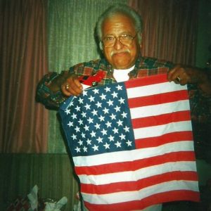 Every year for his birthday we loved giving him gifts showing his pride in the red, white and blue.