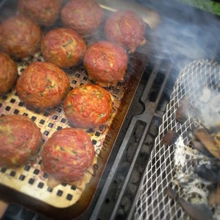 meatballs on the grill
