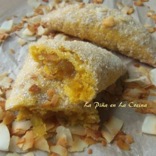 Pineapple Mango Empanadas~ Baking with Coconut Oil