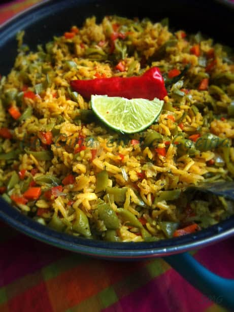 Savory Chicken Rice with Toasted Cumin and Lime