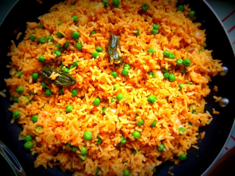 My Mom's Mexican Red Rice