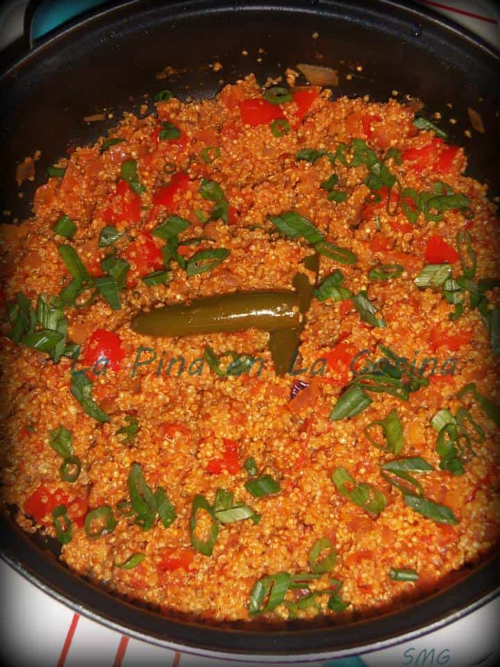 Mexican Style Red Rice with Quinoa