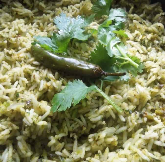 Cilantro Chile Rice