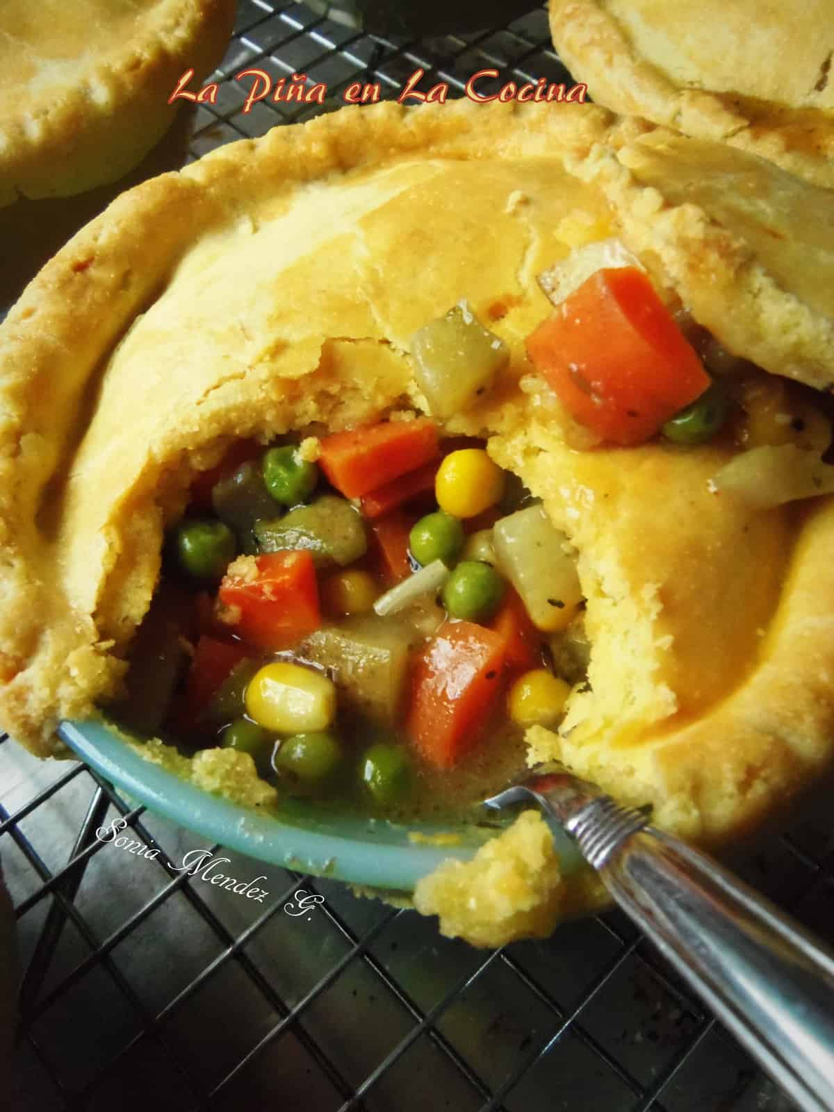 Loaded Veggie Pot Pie