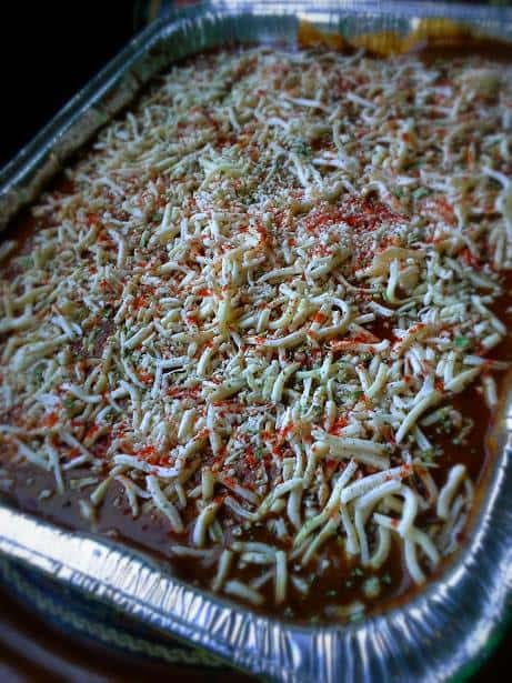 Layered Enchilada Casserole