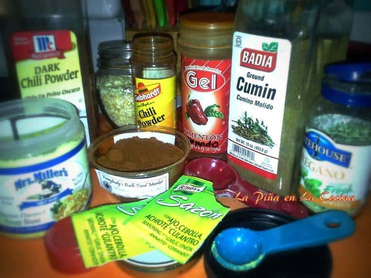 I have a big selection of spices in my cupboard and try to use them in as many recipes as possible. Spice it up!