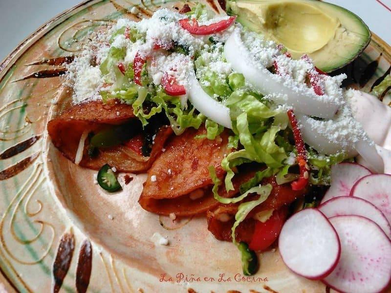Street-Style Enchiladas
