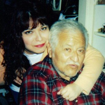 My Dad and me...he loved to sing...he had a great, soft voice...