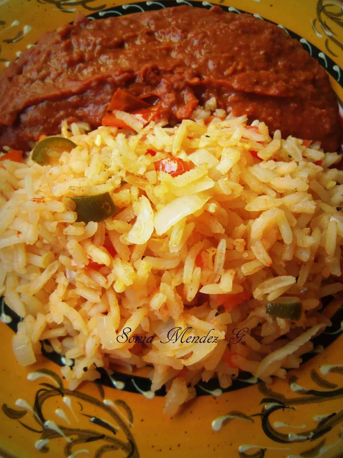 Mom's Mexican Red Rice