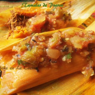 Pibil Pork Tamales~Preparing a Chile Infused Masa