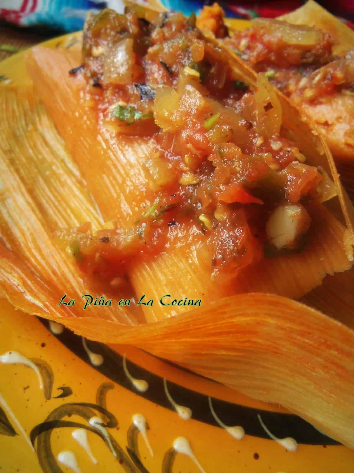 Pibil Pork Tamales