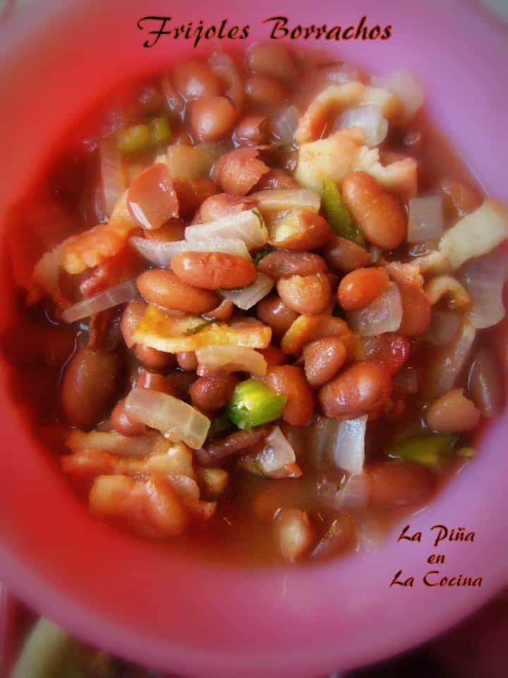 Frijoles Borrachos, a family favorite!