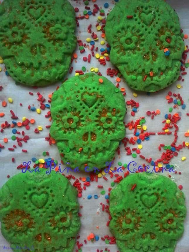 Dia De Los Muertos Calavera Cookies