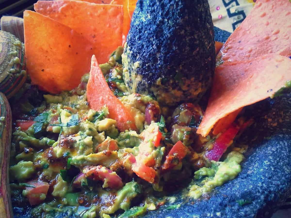 Guacamole de Molcajete