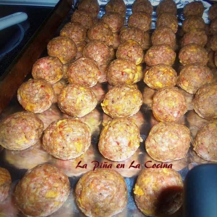 Taco Flavored Mini Meatballs