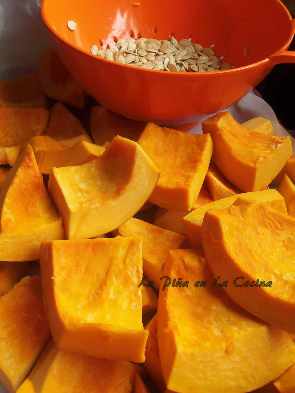 Fresh Pumpkin for Relleno de Calabaza