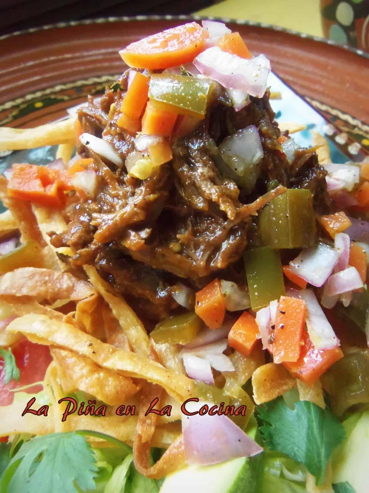 Carne Deshebrada (Braised Shredded Beef)
