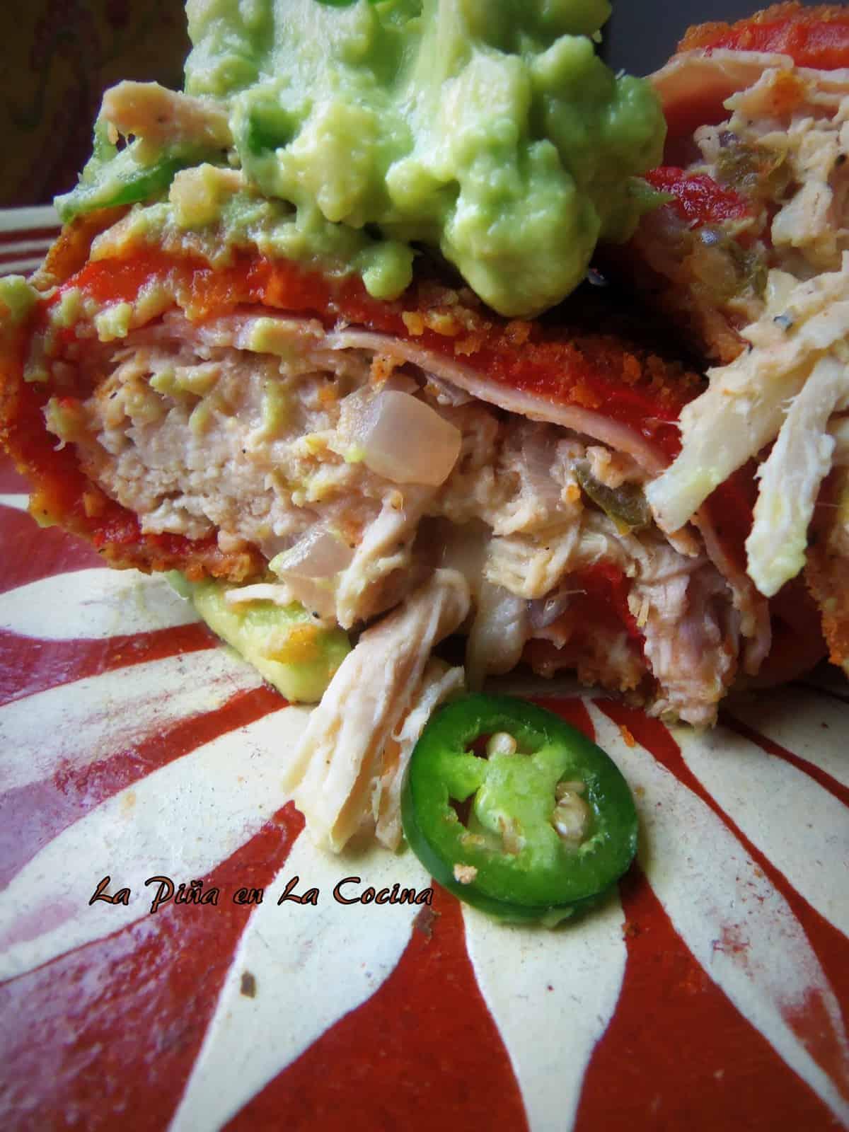 Chicken, Jalapeño and Cheese Poblano