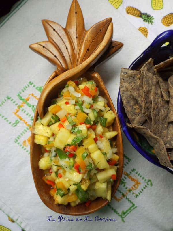 Salsa de Piña con Chile Manzano