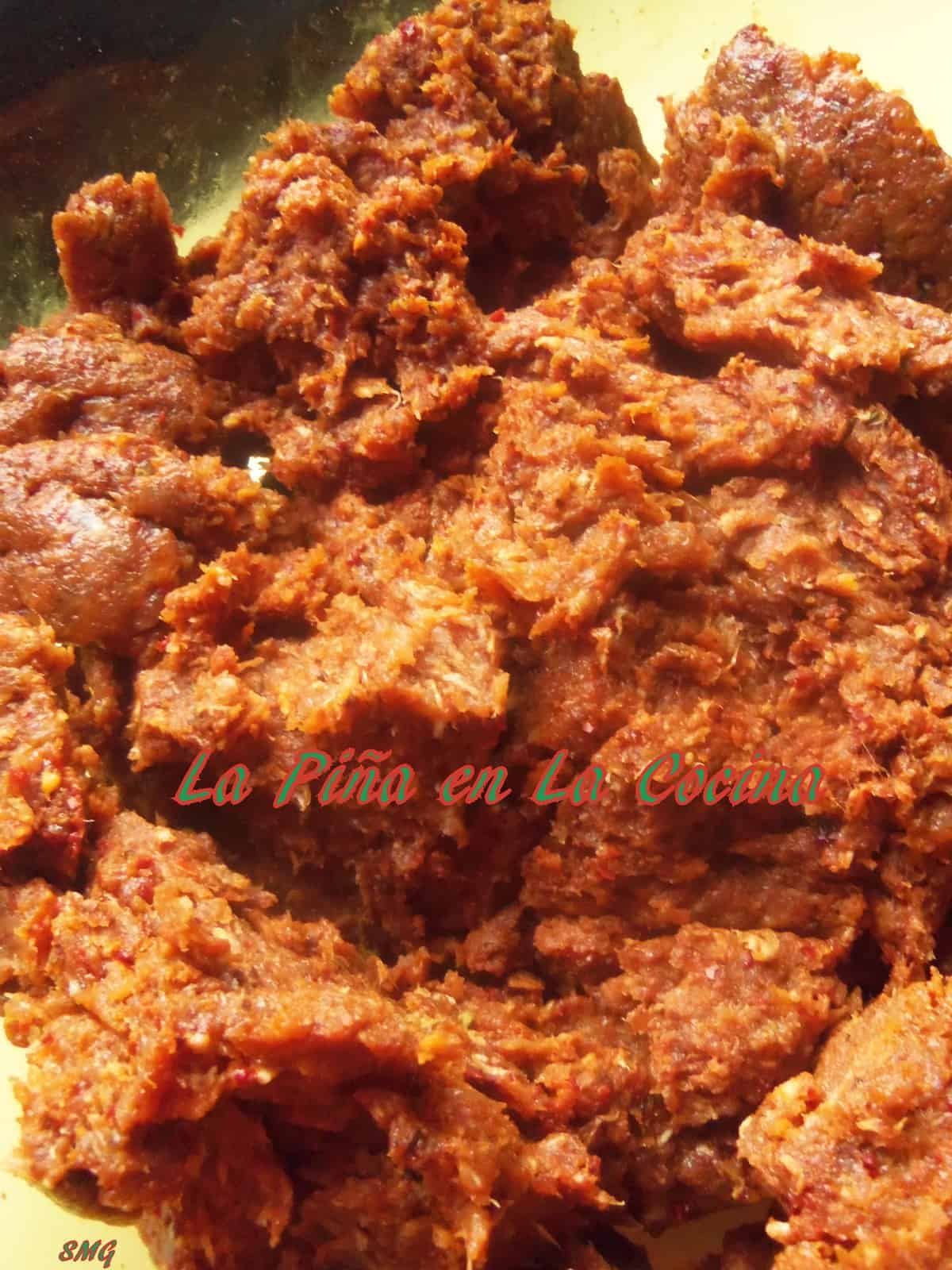Spicy Mexican Chorizo Prepared with Spice and Chile Blend