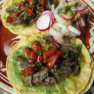 Tacos y Domingo Familiar~ Slow Cooked Beef Tacos