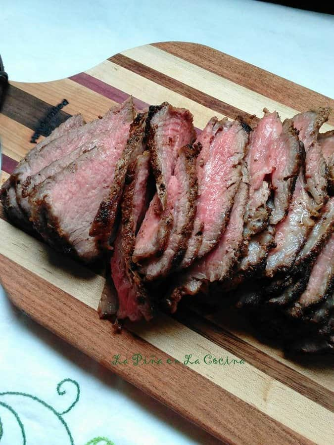 Beef Tri Tip~ Cast Iron Cooking