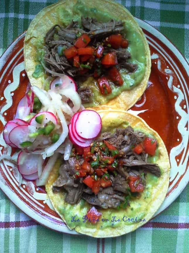 Slow Cooker Beef Tacos....Easy to Throw a Taco Party