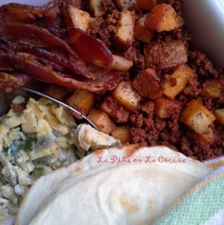 A Spicy Blend For Mexican Chorizo~ Papa con Chorizo