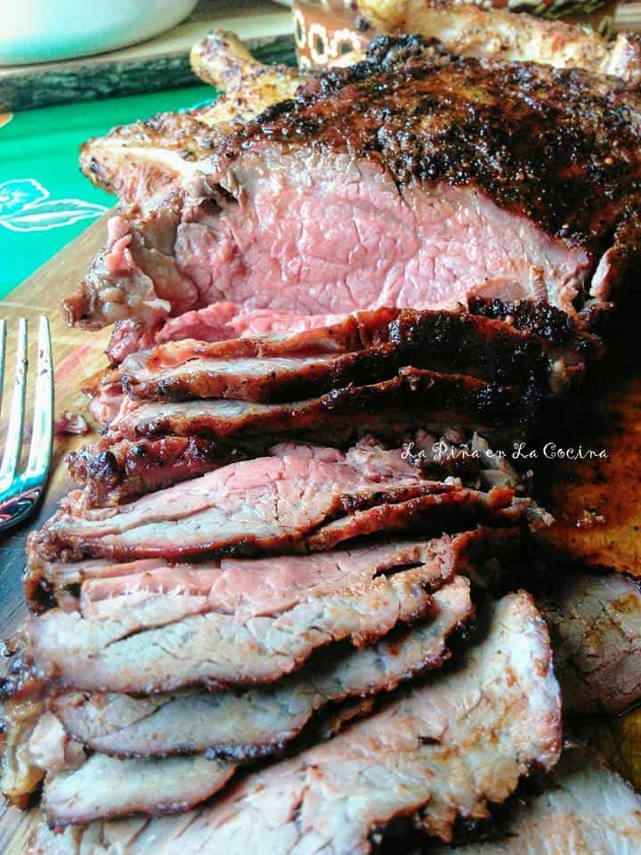 Chile Ancho Marinated Tri Tip #tritiproast
