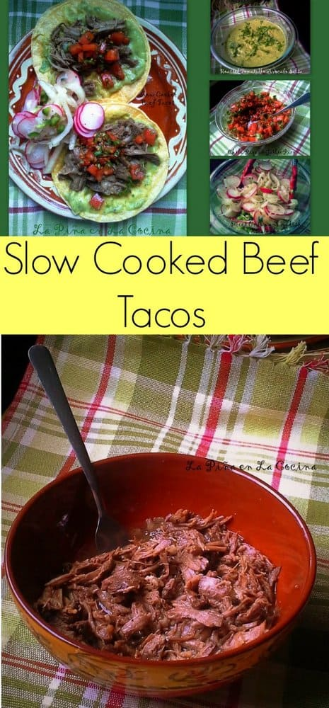 Slow Cooked Beef Tacos