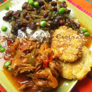 Ropa Vieja~ Shredded Beef Braised in a Sofrito Sauce