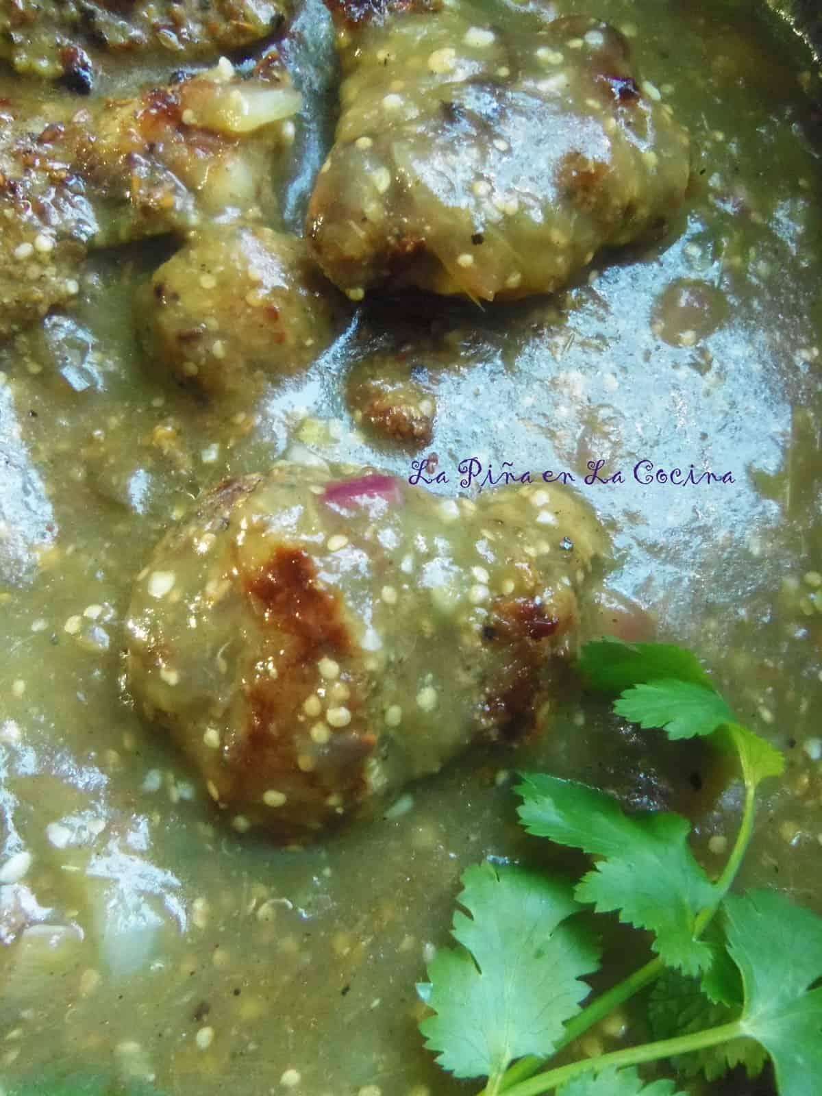 salsa verde tomatillo salsa verde roasted salsa verde grilled pork ...
