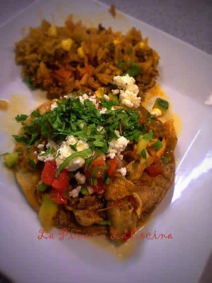 Tinga de Pollo at the Chorizo Cooking Class. Picture by Celeste.