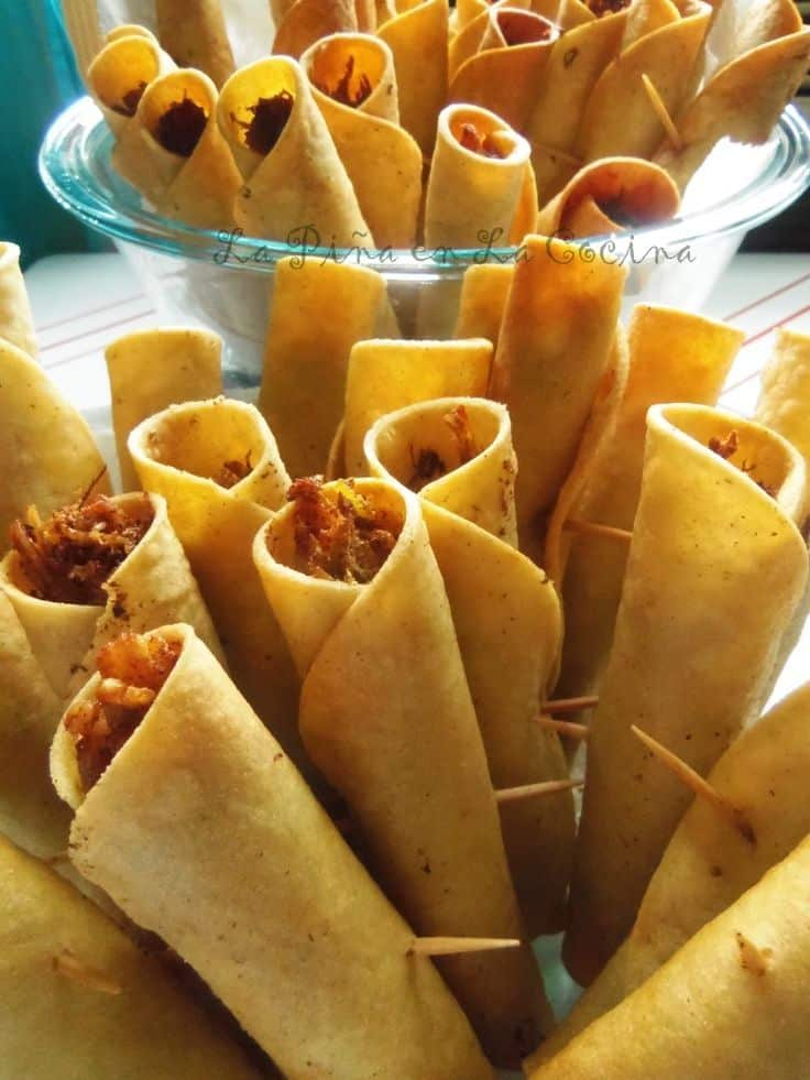 Call them tquitos, flautas or dorados, just get some on my plate, please!