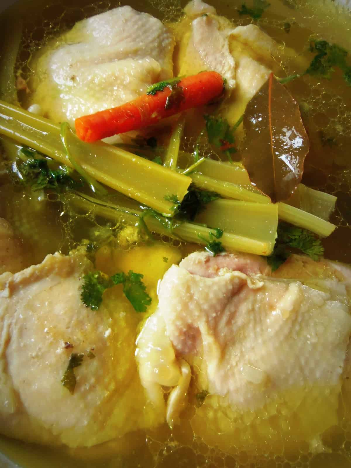 There is nothing more delicious than any homemade stock for all of your favorite recipes.
