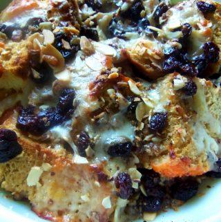 Capirotada~Mexican Bread Pudding