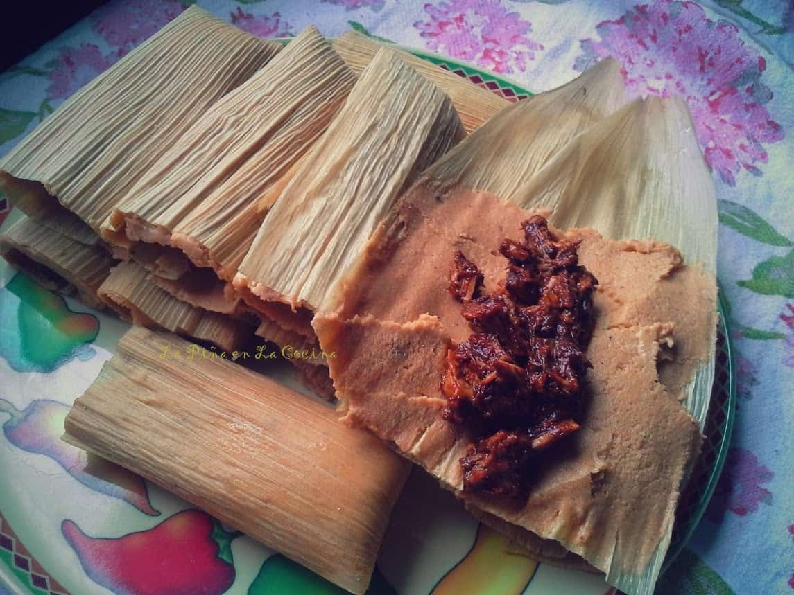 Place filled tamales seam side down as you fill them.