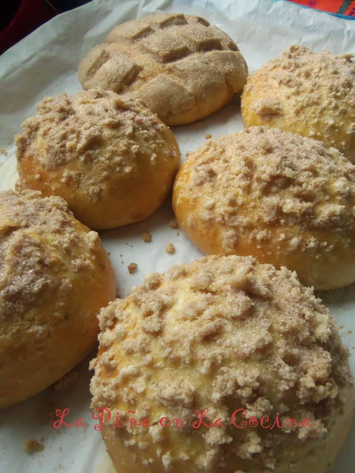 Pan de Huevo/Conchas