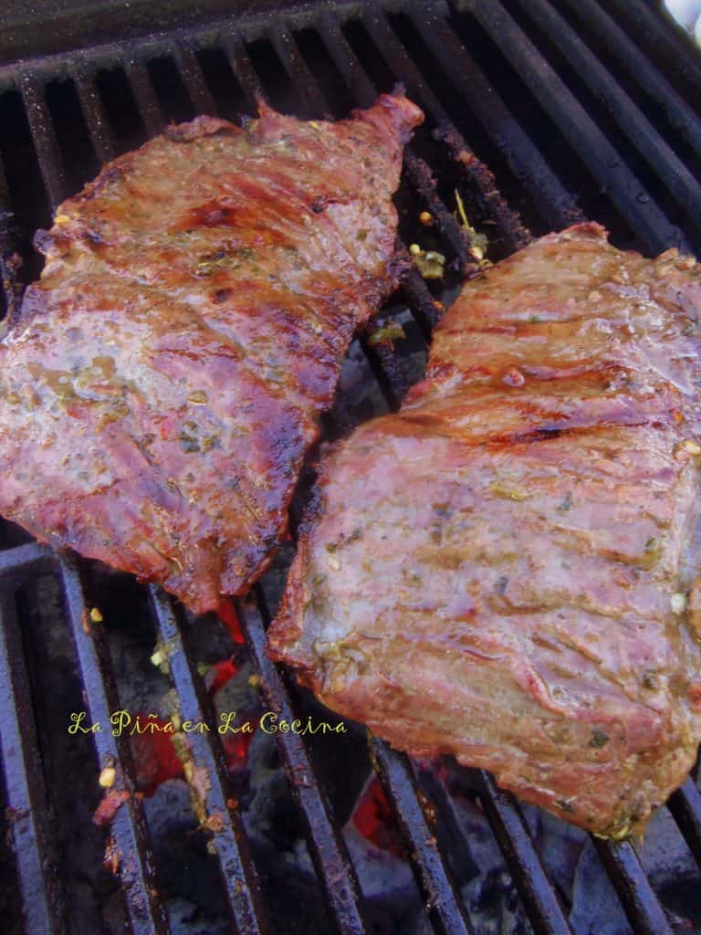 Find recipe for Grilled Skirt Steak on site.