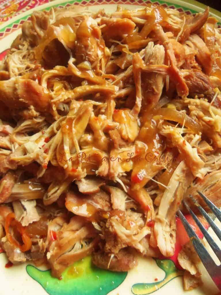 Hawaiian Pulled Chicken