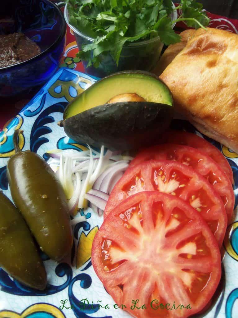 Tomato Avocado Torta (Sandwich) #floridatomatoes