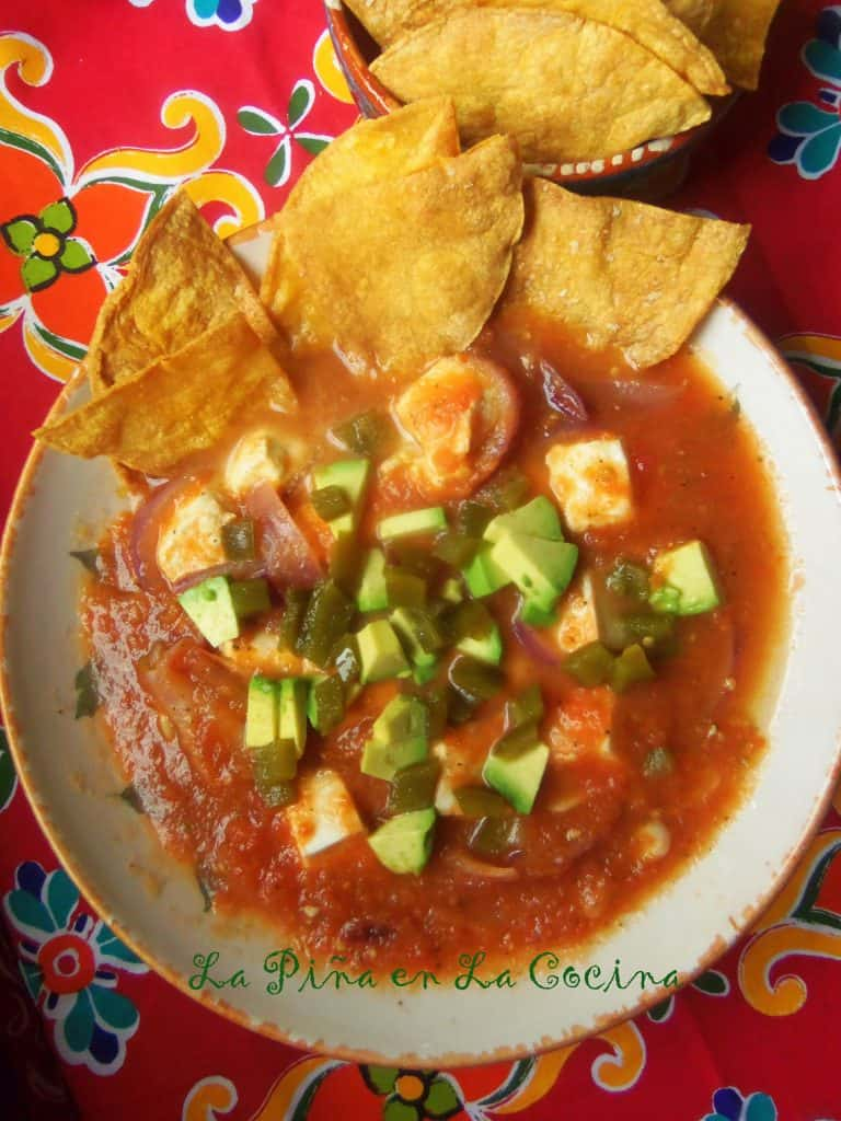 Queso Fresco en Salsa~Farmers Cheese in Tomato Salsa #floridatomatoes