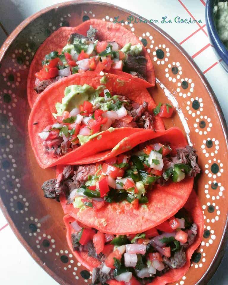Carne Asada-Grilled Skirt Steak Tacos