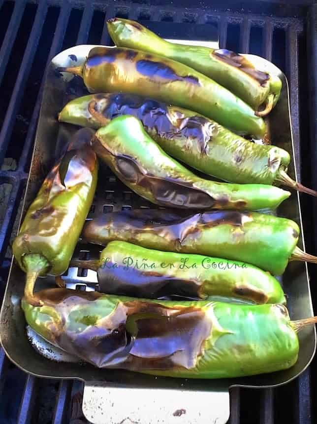 For me the best way to roast the green chiles in on the grill. I find that the oven method overcooks them more often than not.