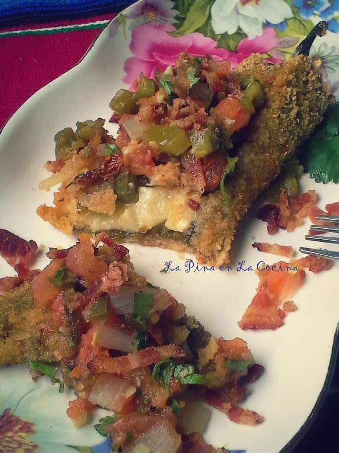 Smoky Bacon Cheddar Rellenos.
