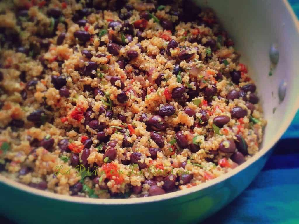 Black Bean and Quinoa