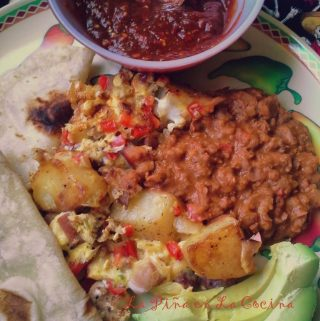 Papas con Huevo~ Mexican Brunch